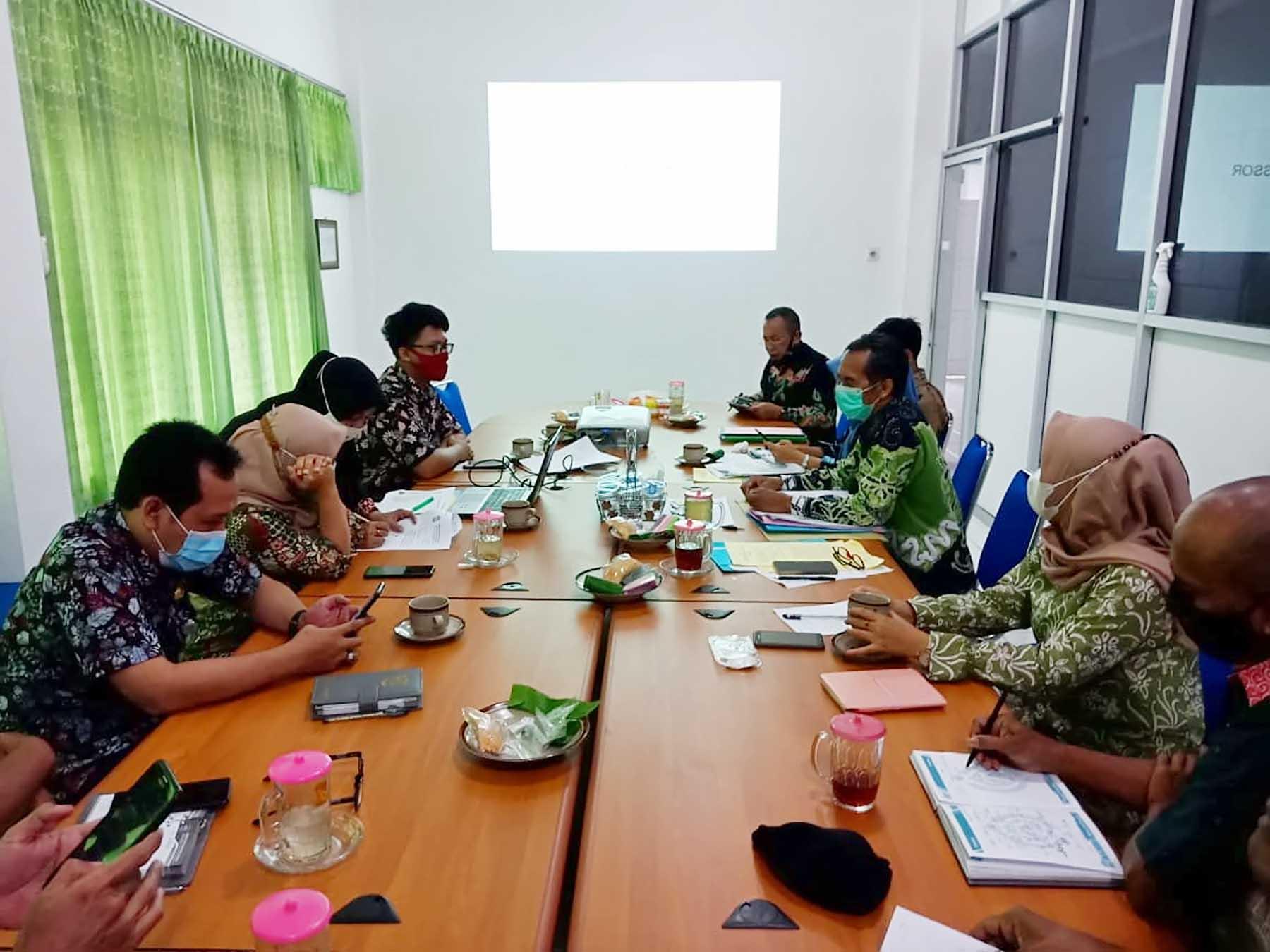PMPRB di Lingkungan Dinas Kominfo Kabupaten Lumajang Tahun 2021