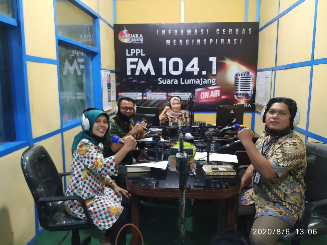 Dialog Interaktif LPPL Radio Suara Lumajang dan Dinas Lingkungan Hidup
